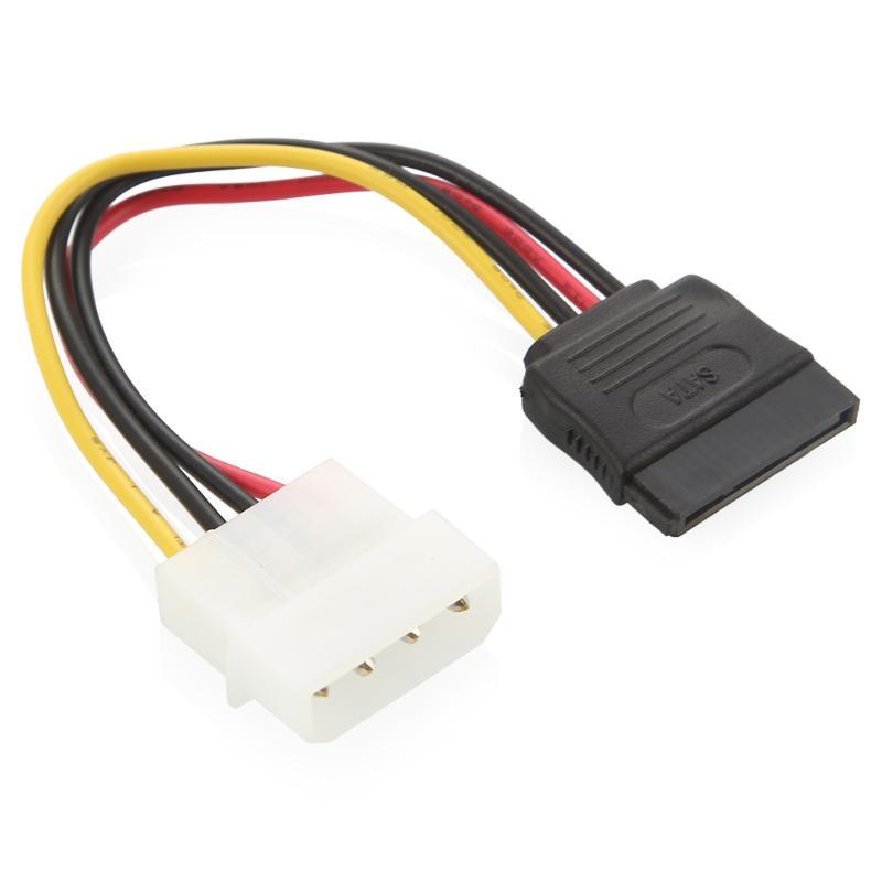Переходник питания для SATA-устройсв с Molex на SATA
