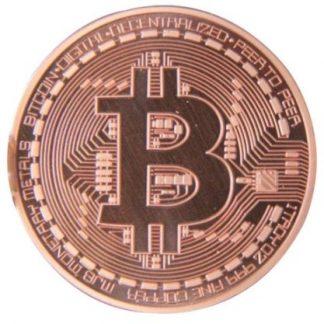 Медная монета Биткойн