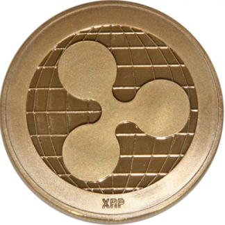 ripple монета медная