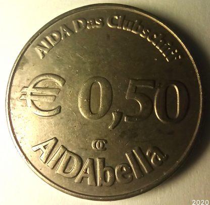 50 Euro Cent AIDAbella