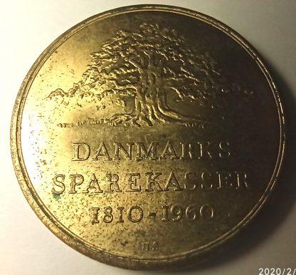 Жетон сберегательного банка Дании