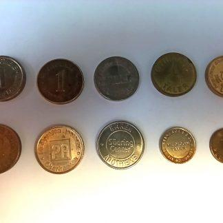 коллекция аптечных жетонов
