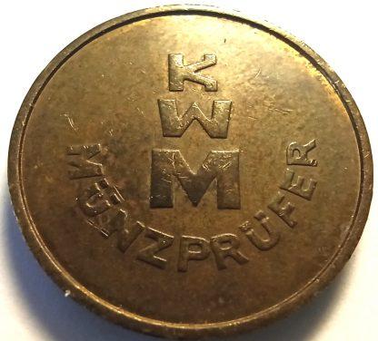Жетон KWM MUNZPRUFER