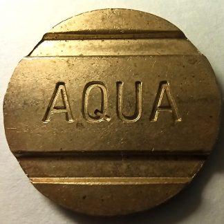 Жетон моечный AQUA