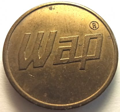 Car Wash Token - Wap 22 mm