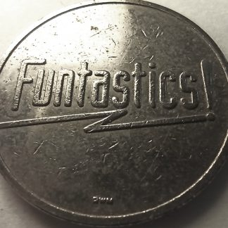 FUNTASTICS WIZARD MAGICIAN AMUSEMENT TOKEN