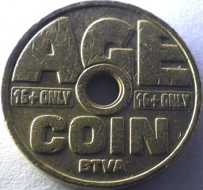 возрастной табачный жетон Бельгия