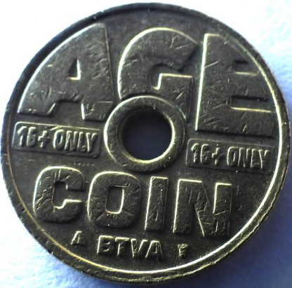 age coin token 16 only