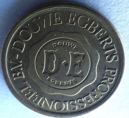 """Жетон, Нидерланды, для кофейных автоматов """"Douwe Egberts Professioneel B.V."""