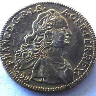 Tu Domine Spes Mea 1752 - Faux ducat Or du Reader's Digest