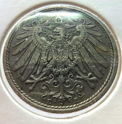 Германия 10 пфеннигов, 1912