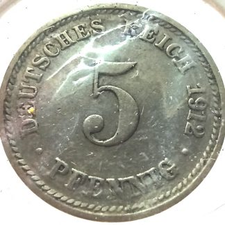 5 пфеннигов, 1912 d
