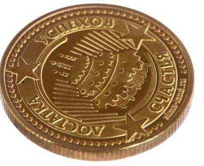 монета с тортиком