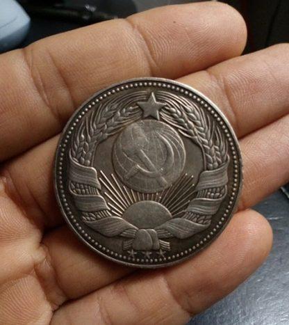 копия монеты Сталин