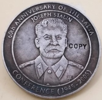 5 долларов 2005 Йосиф Сталин 60 летие ялтинской конференции