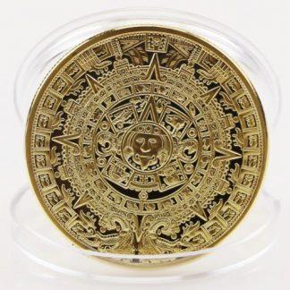 Календарь Майя монета