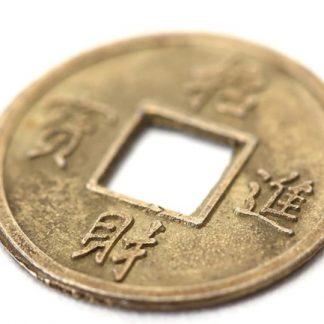 Монета Феншуй